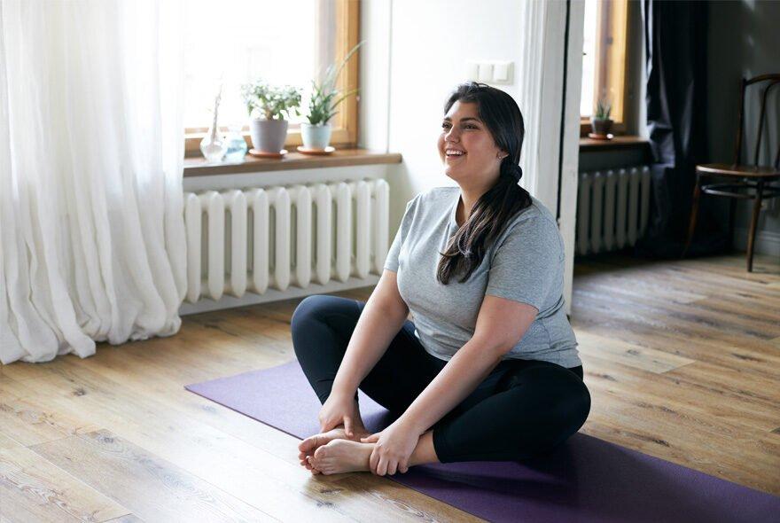sJak zacząć ćwiczyć przy nadwadze i otyłości?